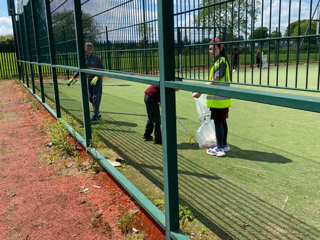 Community Litter Picking Activity - Mr Lawlor's 5th Class