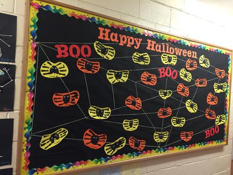 Halloween Art in MsFagan's class