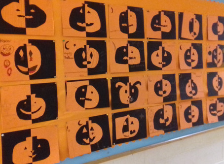 Happy Halloween from Mr Lawlor's 5th Class