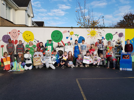 Our Amazing Junk-Art Costumes (Mr. Doherty's Class)!