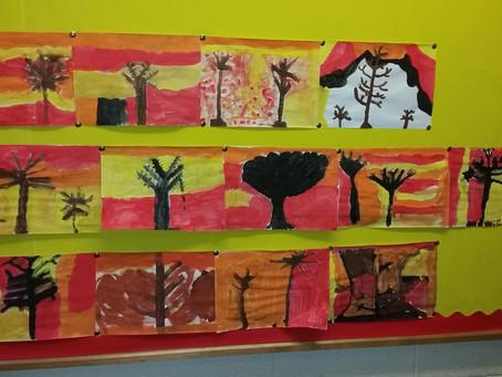 3rd Class Autumn Art