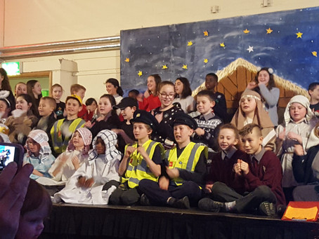 5th Class put on a great Christmas Show🎄