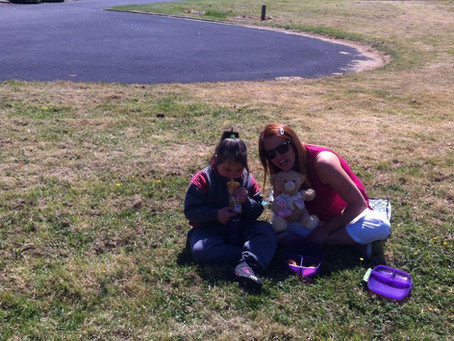 Lots of fun at the infant teddy bear picnic