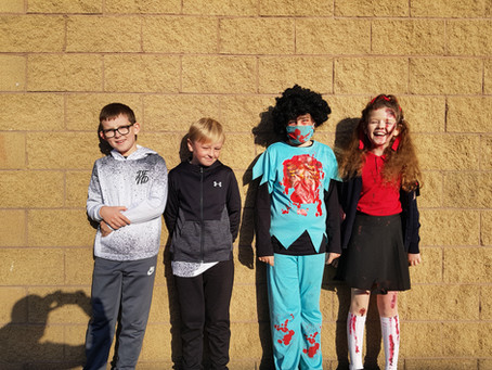 Happy Halloween from Mr. Doherty's Fourth Class!