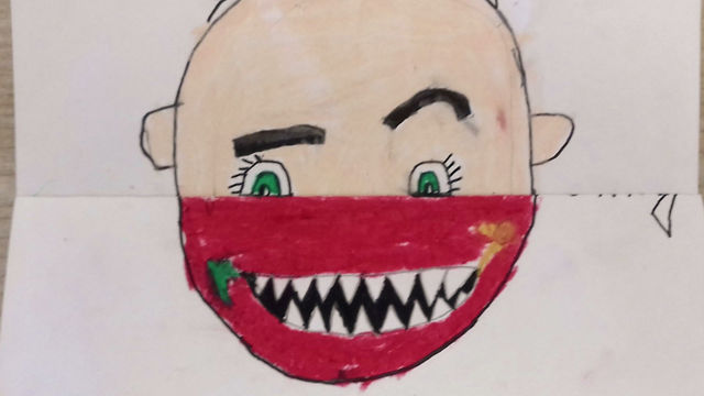 Mr Lawlor's 5th Class look Behind the Mask!