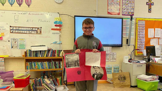 Fifth Class - Famous Inventions Project