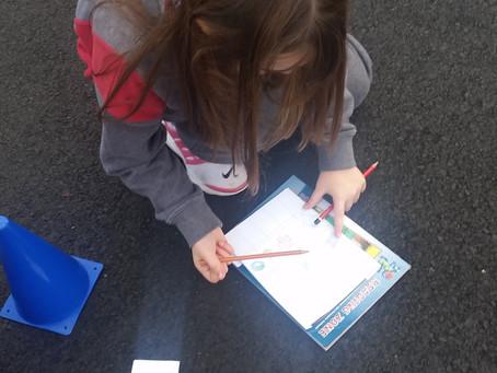 3rd Class orienteering