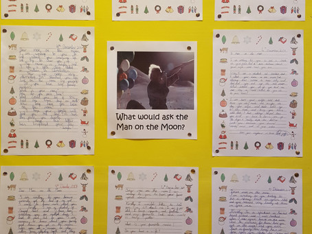 Ms Murphy's class have been doing Christmas narrative writing