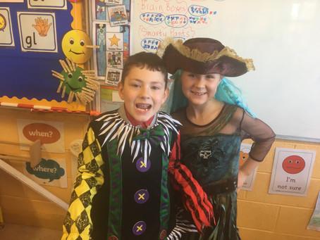 Ms Leonard's Class Halloween dress up