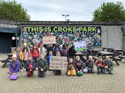 Ms Brennan's class in Croke Park