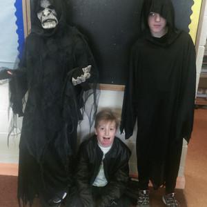 Halloween in Mr Stevenson's 6th class
