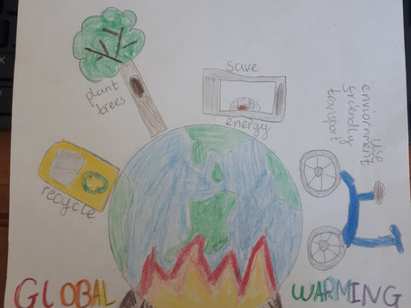 Look at our powerful 'Climate Change' Posters!