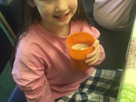 Hot chocolate & pyjamas day in Ms Fagan's