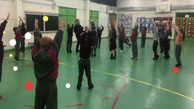Dancing Workshops for 2nd and 3rd Class from Stephen Brennan of Ballet Ireland