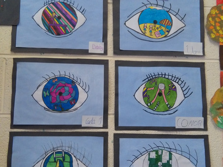 Art work by our 4th/5th class!
