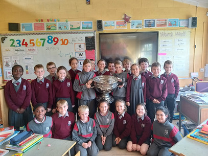 Sam McGuire visits 3rd Class