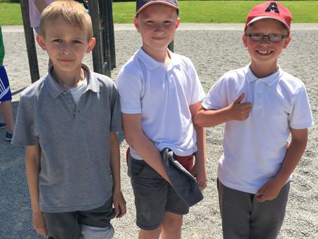 Ms. Geoghegan's 2nd class visit Corkagh Park!