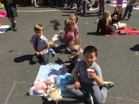 The Infants had great fun on their Teddy Bear's Picnic! Time to enjoy the summer holiday 😎😎