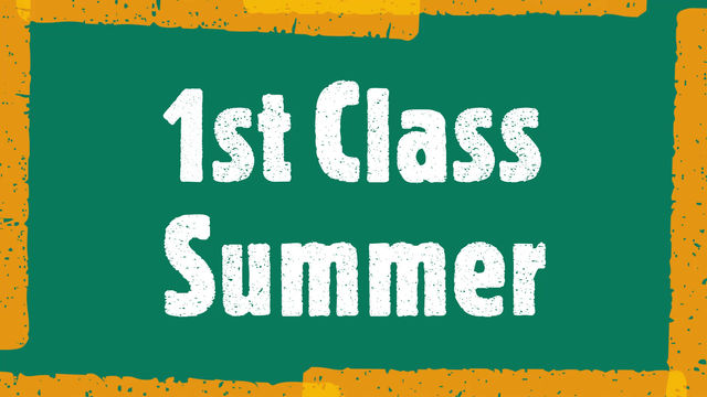 Summer fun in First Class