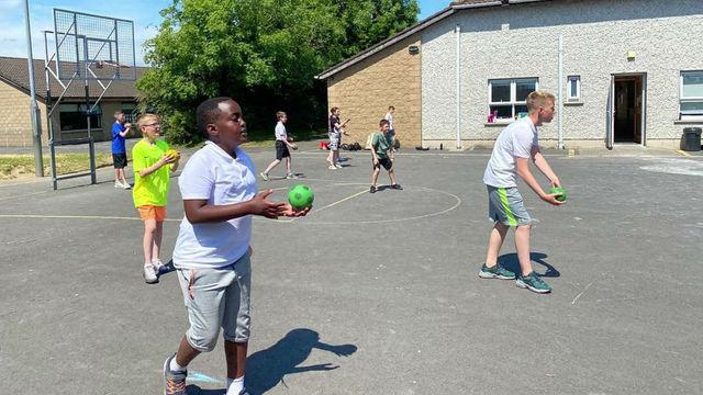 Fifth Class Sports Day Fun