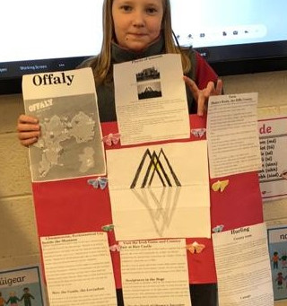 Counties of Ireland Project - 5th Class