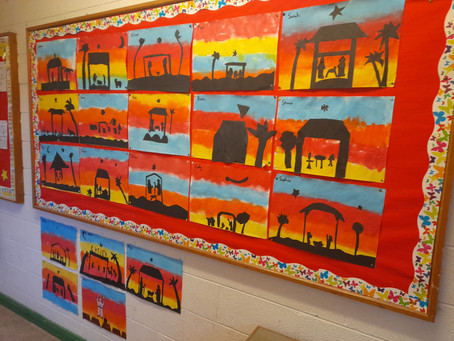 Art in 4th class