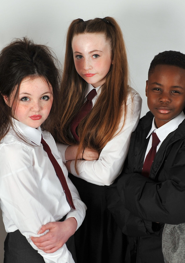 The Big Kids Rule the School!