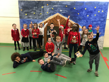 Ms Kerrigan's Christmas Jumper Day