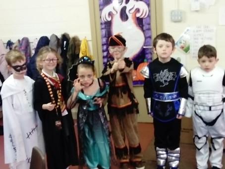 Halloween fun in Ms. Kearns' class.