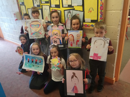 Well done to all the winners of the 'Friendship week' Art competition.