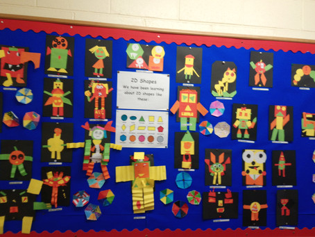 Halloween Monsters in 4th Class