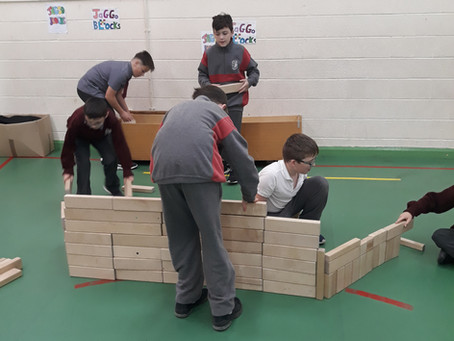 Big Build for STEM week!