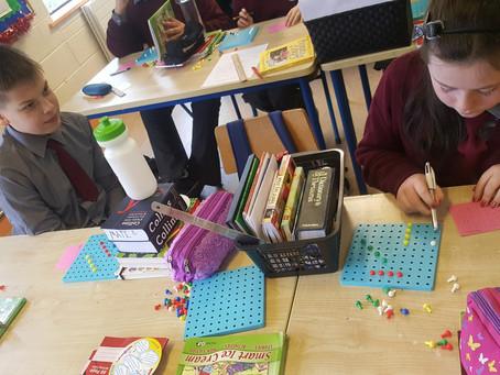 Maths battles in 6th class