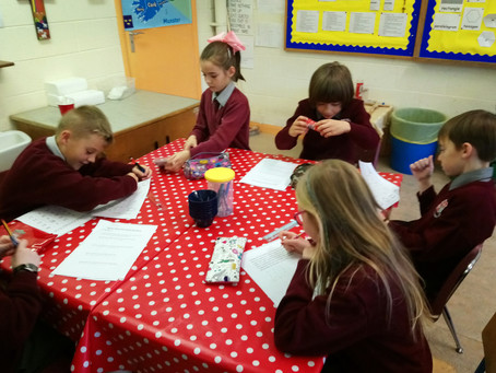 Maths Week Problem Solving in Ms. Byrne's Class