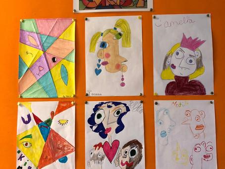Mr Lawlor's 5th Class - Cubist Art