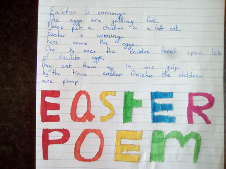 Easter Poem and Story Competition Winners