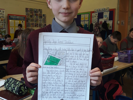 Budding Journalists in 5th class!