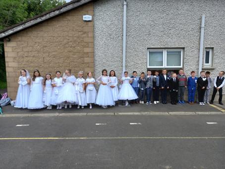 Communion Day - Visit to School