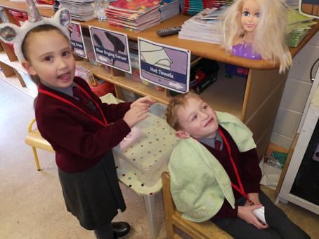 Senior infants Aistear--The Hair Salon