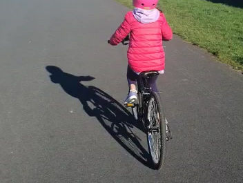 A nice day for a cycle!