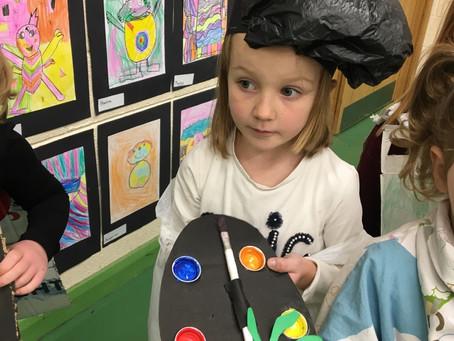 Ms Leonard's Junior Infants loved Arts Week 🎨