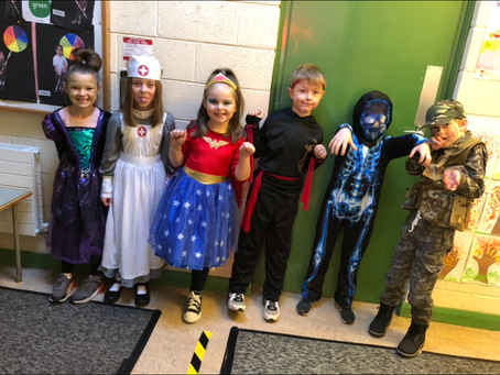 Happy Halloween from Ms. Gallagher's First Class!