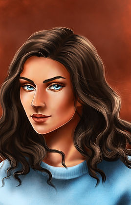 Addie | Character art by Hannah Rogers of Inscape Studio