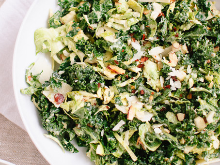 My favorite Kale Salad!