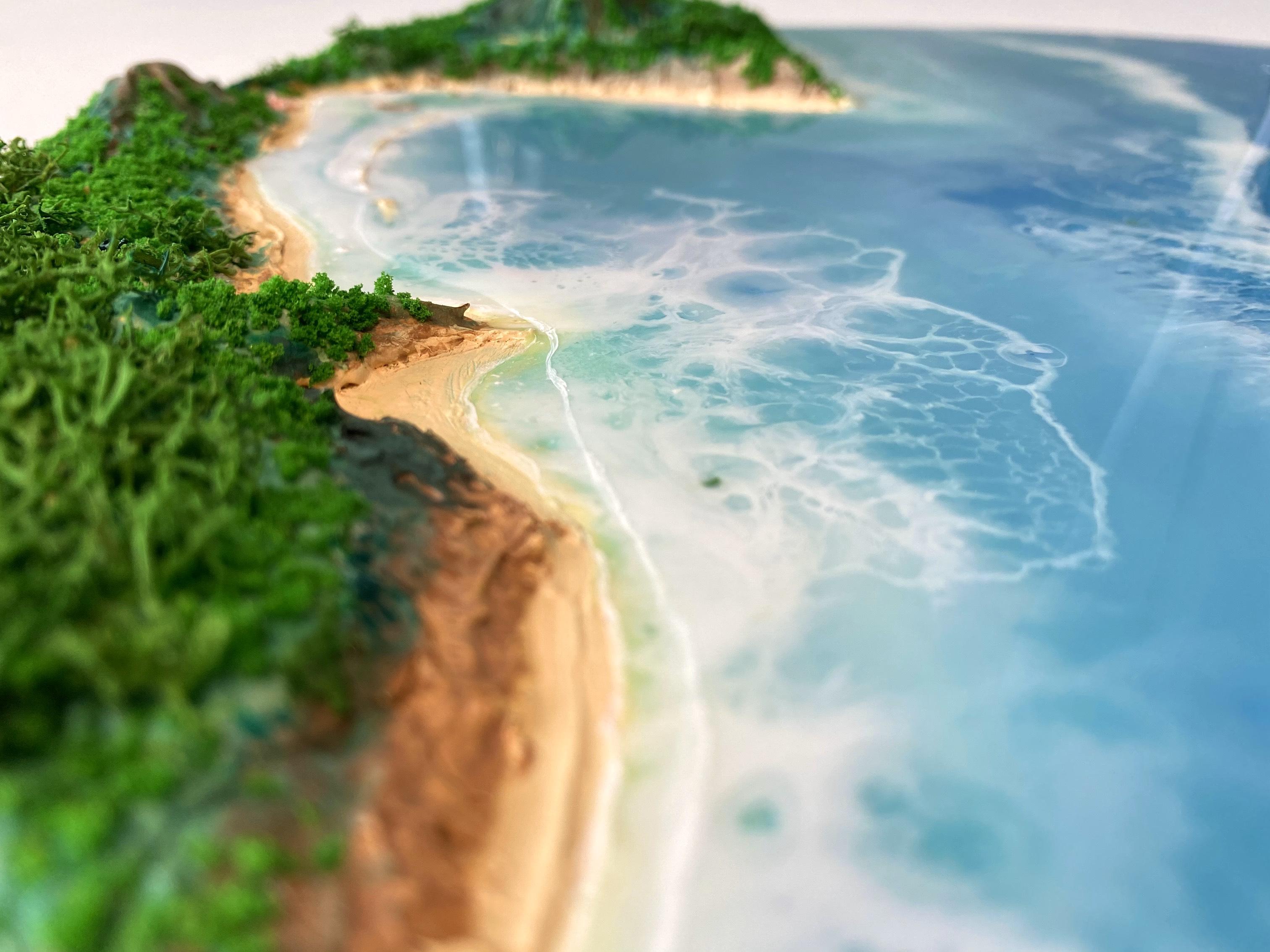 Лес,море,песок,смола
