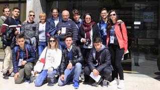 Telemottura visita gli studi della RAI a Saxa Rubra