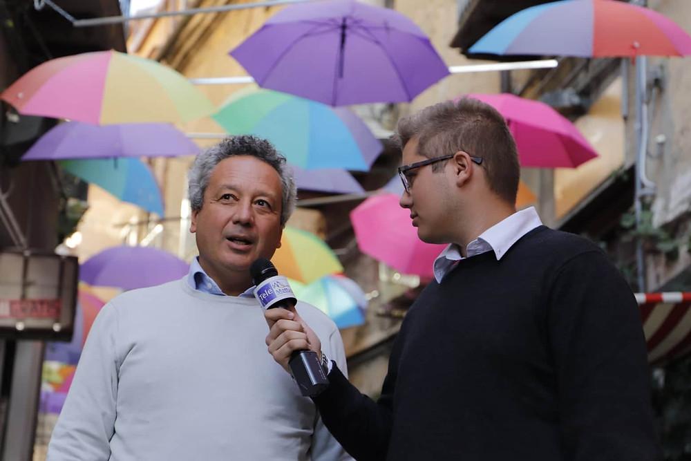 Il Sindaco Giovanni Ruvolo intervistato da Antonio Bellanca (Telemottura)