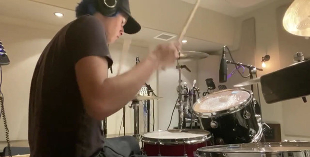 Drum set by London Hudson
