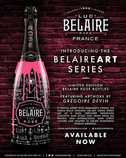 Luc Belaire Collaboration