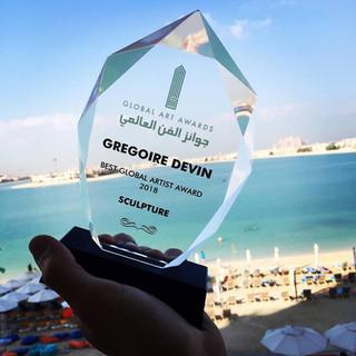 Global Art Award à Dubai